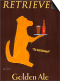 Golden Ale Prints by Ken Bailey