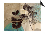 Leaf Kaleidescope 2 Print by Matina Theodosiou