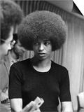 Angela Davis - 1972 Art by Norman Hunter