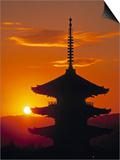 Yasaka Pagoda, Kyoto, Japan Posters by James Montgomery