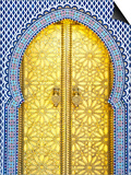 Royal Palace Door, Fes, Morocco Posters by Doug Pearson