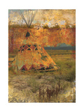 Teepee 1 Prints by Starlie Sokol-Hohne