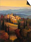Hills of Chianti Print by Max Hayslette