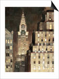 Manhattan Aglow Prints by Paulo Romero
