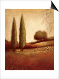 Crimson Dusk Prints by Edward Raymes