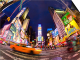 USA, New York, Manhattan, Midtown, Times Square Prints by Alan Copson