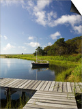 Sengekontacket Pond, Oak Bluffs, Martha's Vineyard, Massachusetts, USA Prints by Walter Bibikow