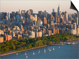 Midtown Mahattan and Hudson River, New York, USA Poster von Peter Adams