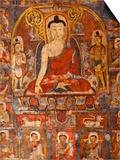 India, Ladakh, Alchi, Alchi Tsatsapuri Is a Little-Know Temple Complex Close to Very Famous Alchi C Prints by Katie Garrod