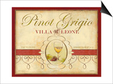 Tre Venezie Pinot Grigio Art by Devon Ross