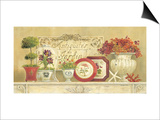 Antiquites Du Jardin Print by Kathryn White