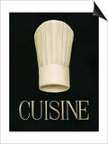 Gourmet Chef Print by Marco Fabiano