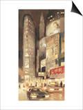 Midtown Glow Print by Paulo Romero