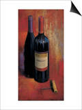 Merlot Abstract Prints by James Wiens