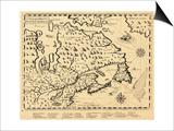 1613, Ontario, Nova Scotia, Newfoundland and Labrador, New Brunswick, Quebec, Prince Edward Island Prints