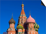 Moscow, Red Square, St Basil's Cathedral, Russia Prints by Nick Laing