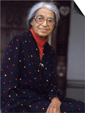 "Rosa Parks, ""Mother of the Civil Rights Movement"", 1995 Prints by Vandell Cobb"