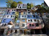 Hundertwasserhaus, Vienna, Austria Art by Doug Pearson