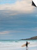England, Cornwall, Newquay, Fistral Beach, Surfers, UK Prints by Alan Copson