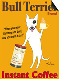 Bull Terrier Brand Posters by Ken Bailey
