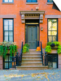 USA, New York, Brooklyn, Brooklyn Heights, Halloween Pumpkins Prints by Alan Copson