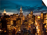 Chrysler Building and Midtown Manhattan Skyline, New York City, USA Prints by Jon Arnold