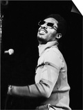 Stevie Wonder Performs in Concert Poster by Norman Hunter