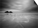 Cornwall, Holywell Bay, Holywell Beach and Carters or Gulls Rocks, UK Prints by Alan Copson