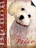 Bichon Frise Posters by Wendy Presseisen