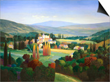 Hills of Provence Print by Max Hayslette