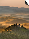 Italy, Tuscany, Siena District, Orcia Valley, Podere Belvedere Near San Quirico D'Orcia Prints by Francesco Iacobelli