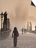 Europe, Czech Republic, Central Bohemia Region, Prague, Charles Bridge Prints by Francesco Iacobelli