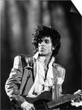 Vandell Cobb - Prince, Concert Performance, 1984 Photo - Reprodüksiyon