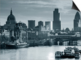 St. Paul's and City of London, London, England Print by Doug Pearson