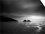 Cornwall, Holywell Bay, Holywell Beach and Carters or Gulls Rocks, UK Posters by Alan Copson
