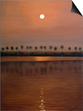 Burma Sunset Poster by Lazlo Emmerich
