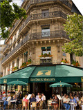 Les Deux Magots Restaurant, Paris, France Posters by Neil Farrin