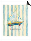 Sailboat Posters by Catherine Richards