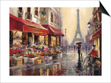 April in Paris Prints by Brent Heighton