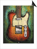 Country Twang Prints by Bruce Langton