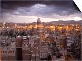 Sana'a, Yemen Poster von Peter Adams