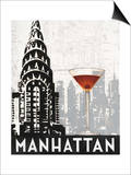 Manhattan Destination Posters by Marco Fabiano