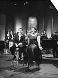 Ella Fitzgerald and Frank Sinatra - 1958 Prints by Howard Morehead
