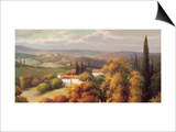 Tuscan Panorama Prints by Vail Oxley