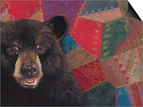 The Heirloom Bear Quilting Society Print by Penny Wagner