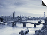 Houses of Parliament and River Thames, London, England, UK Prints by Jon Arnold