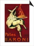 Pates Baroni Vintage Poster - Europe Art