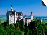 Neuschwanstein Castle, Bavaria, Germany Posters by Steve Vidler