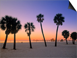 Clearwater Beach, Florida, USA Posters by John Coletti