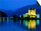 Eilean Donan Castle, Loch Duich, Highlands, Scotland Prints by Steve Vidler